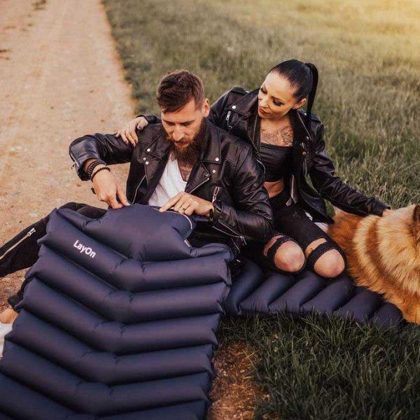 sleeping pad camping
